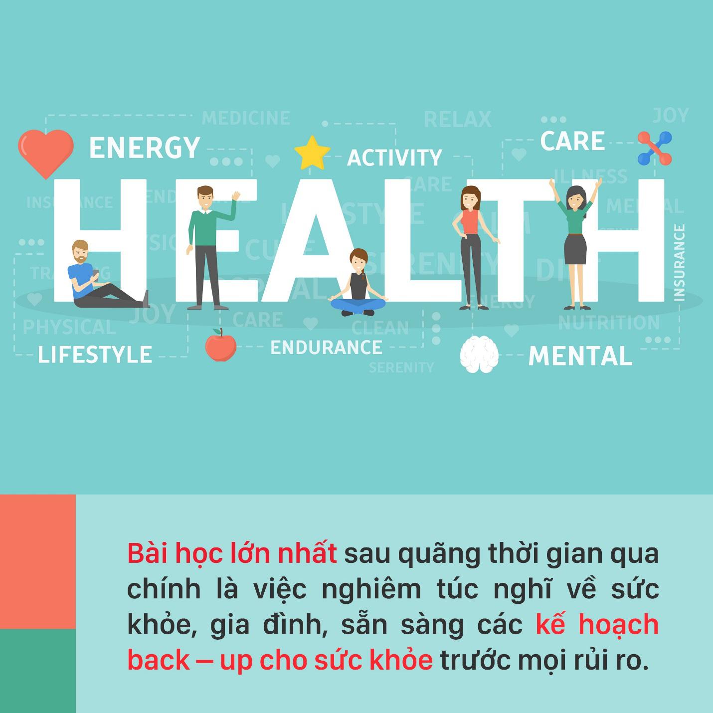 """Dù cuộc sống biến động ra sao, có sức khỏe bạn sẽ nắm giữ tất cả, vậy nên đừng """"bỏ rơi"""" chính bản thân mình - Ảnh 1."""
