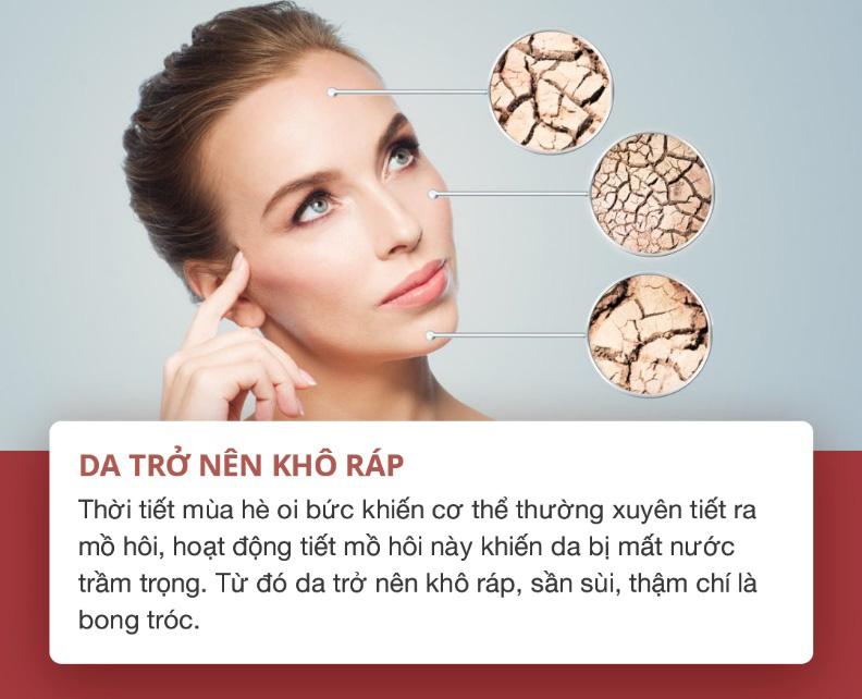 """Những dấu hiệu cho thấy làn da bạn đang """"kêu cứu trong ngày hè và cách khắc phục - Ảnh 3."""