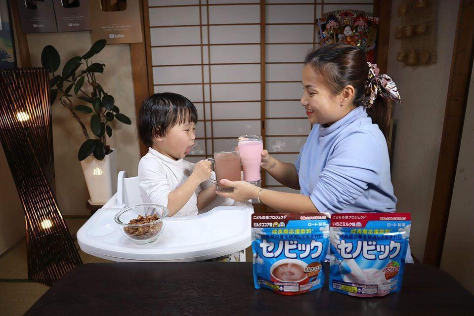 Bật mí thức uống hỗ trợ tăng trưởng của Nhật khiến bé Sa mê tít trong ly rau câu khổng lồ phủ vàng 24K của Quỳnh Trần JP - Ảnh 4.