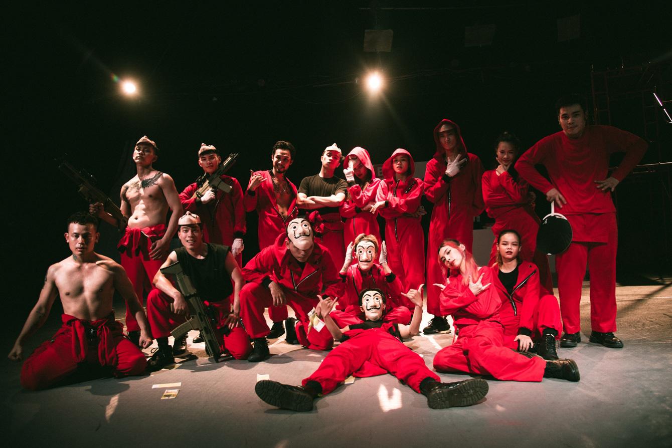 Mọt phim Netlix sẽ như được sống lại với bộ phim Phi Vụ Triệu Đô khi xem phiên bản dance cực xịn đến từ BCA Dance Group - Ảnh 7.