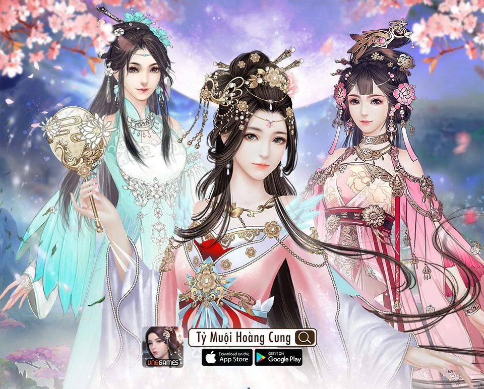 Tỷ Muội Hoàng Cung - Dàn nam - nữ chính diện là soái ca soái tỷ tựa phim ngôn tình khiến game thủ Việt muốn trụy tim - Ảnh 4.