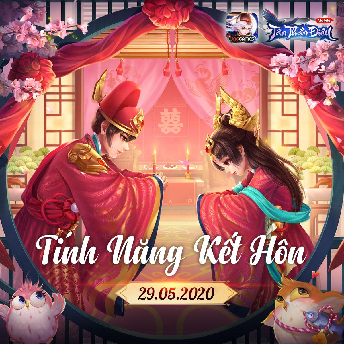"""Game thủ Tân Thần Điêu VNG được kết hôn, """"quẩy"""" Liên server và chơi môn phái mới Độc Cô từ ngày 29/5 - Ảnh 1."""