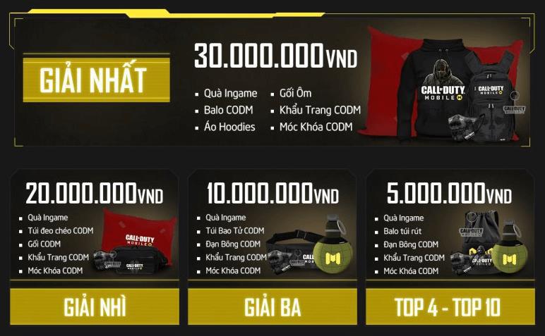 Tôi là chiến binh CODM – cuộc thi có tổng giải thưởng lên đến 200 triệu VND tiền mặt và nhiều phần quà độc đáo - Ảnh 3.