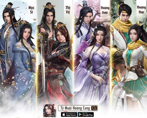 chơi Tỷ Muội Hoàng Cung – game Cung Đấu Ngôn Tình Photo-1-15917849608161407108676