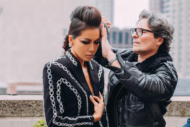 Mãn nhãn với loạt hairstyle đẳng cấp của Minh Tú trong lần tham dự New York Fashion Week Spring/Summer 2020 - Ảnh 7.