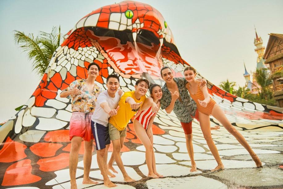 Top 5 trải nghiệm thế giới khiến giới trẻ mê mẩn tại công viên chủ đề lớn nhất Việt Nam - Ảnh 5.