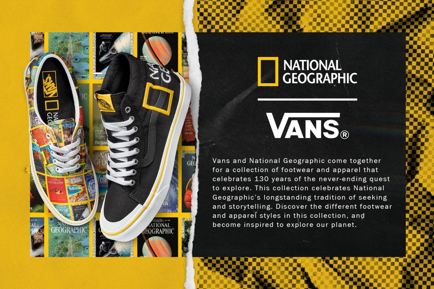 Vans lại gây sốt với siêu phẩm mới, vinh danh 132 năm cống hiến của National Geographic - Ảnh 1.
