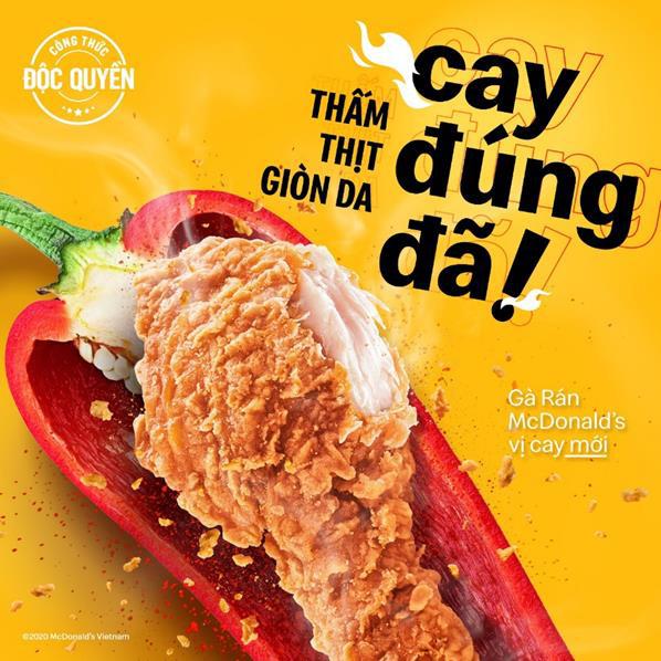 Gà cay McDonalds: Một phong vị cay mới! - Ảnh 3.