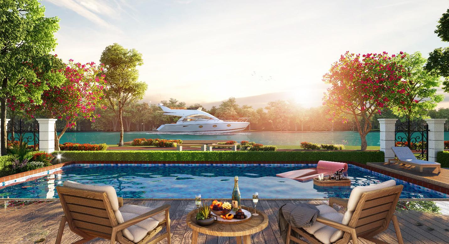 Biệt thự sinh thái ven sông mang bản sắc riêng thu hút nhà đầu tư - Ảnh 1.