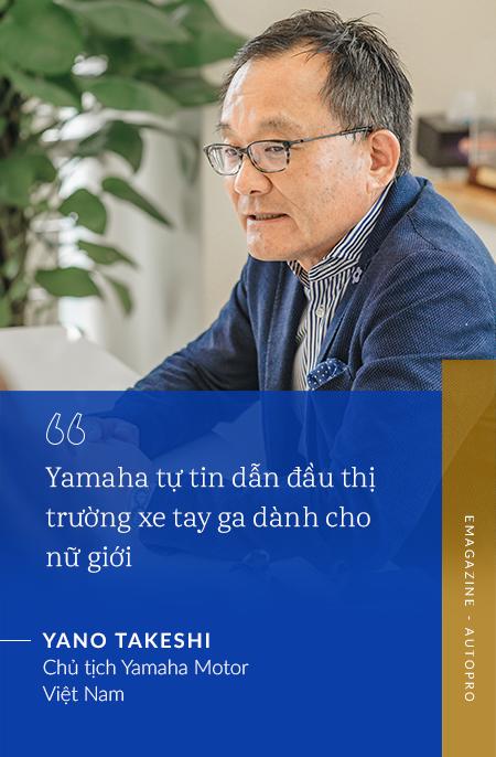 Chủ tịch Yamaha Việt Nam: 'Chúng tôi sẽ khơi dậy khách hàng trẻ tìm được bản ngã của chính mình' - Ảnh 8.