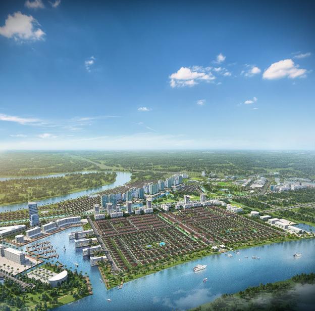 Cận cảnh năm phân khu chức năng của thành phố bên sông Waterpoint - Ảnh 1.