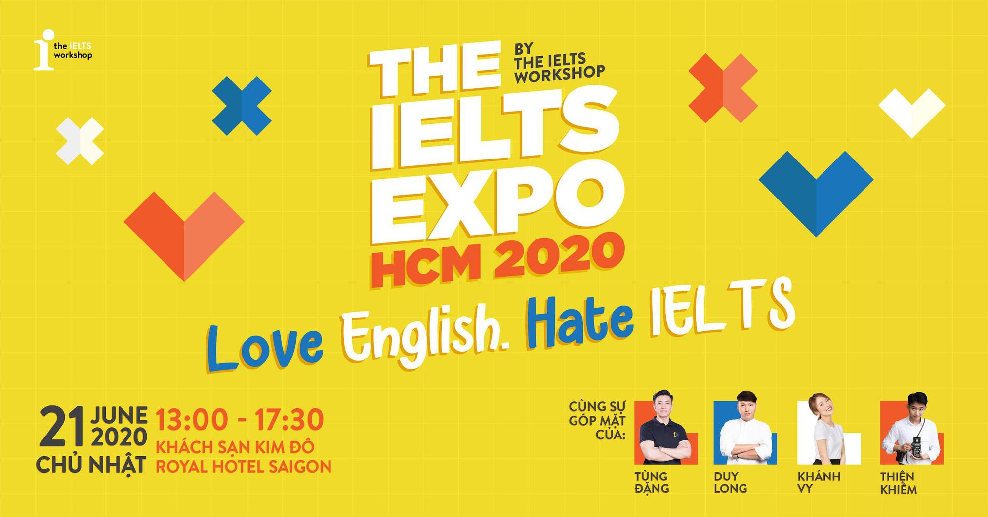 THE IELTS EXPO 2020: Đặng Trần Tùng, Khánh Vy, Thảo Tâm, Duy Long, Thiện Khiêm lần đầu hội ngộ - Ảnh 1.