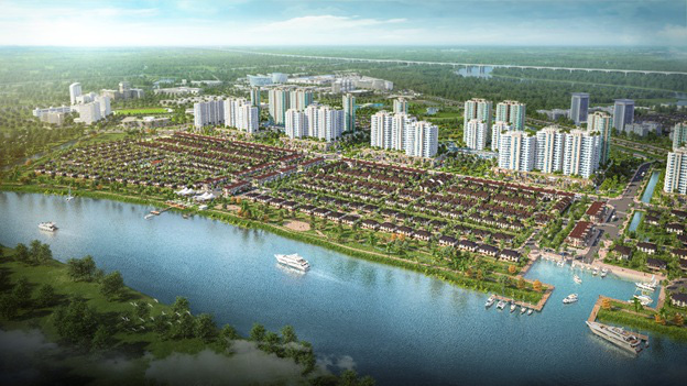 Cận cảnh năm phân khu chức năng của thành phố bên sông Waterpoint - Ảnh 2.