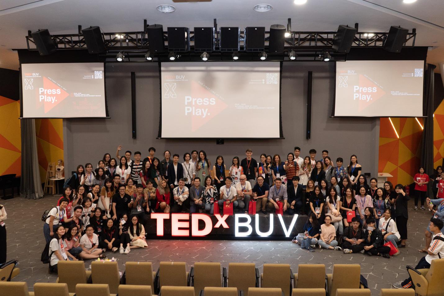 """TEDxBUV: """"Press Play"""" – Chương trình diễn thuyết tầm cỡ quốc tế mang đậm dấu ấn sinh viên - Ảnh 6."""