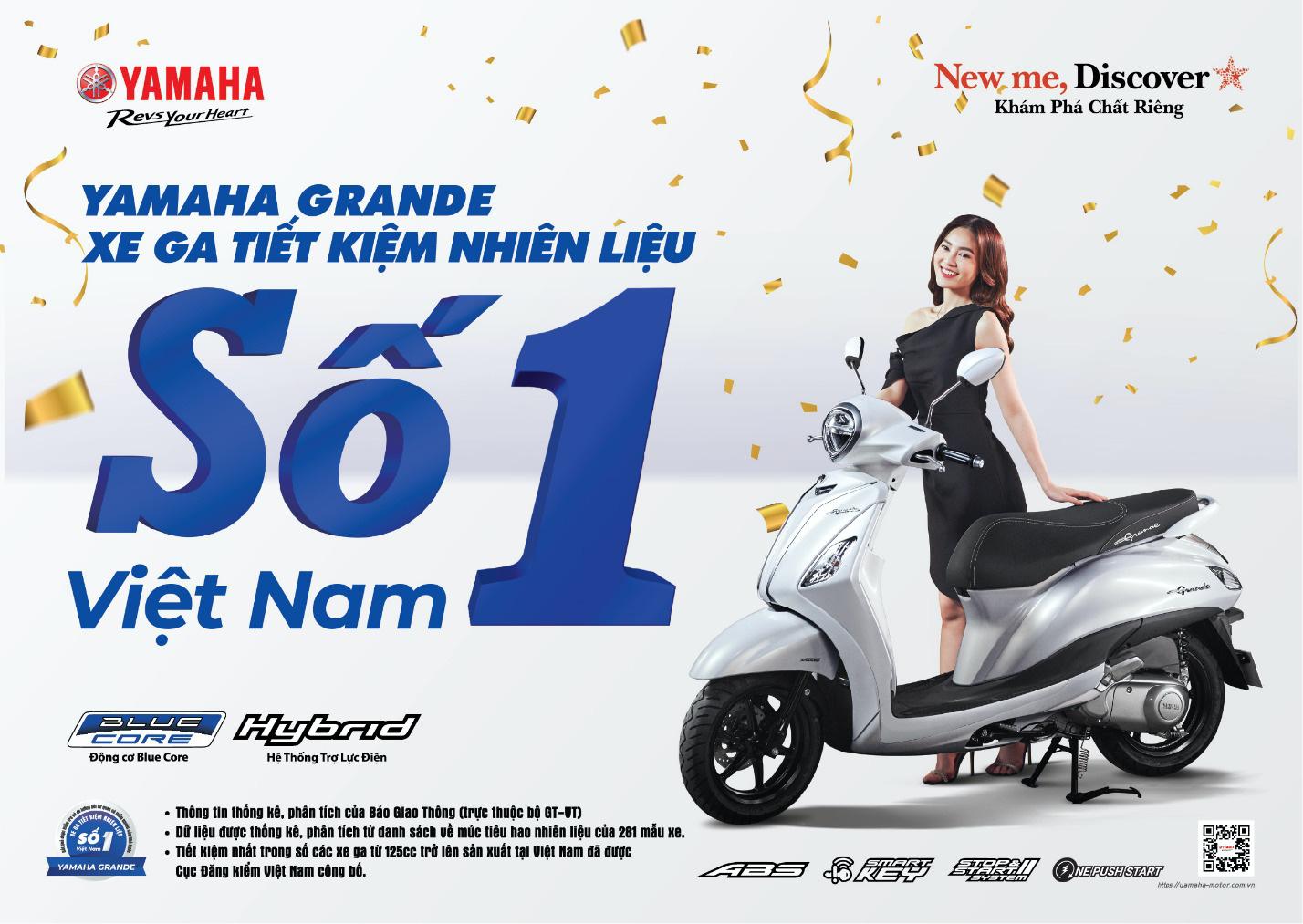 Xe máy tiết kiệm xăng số 1 Việt Nam gọi tên Yamaha Grande, Jupiter, Sirius - Ảnh 1.