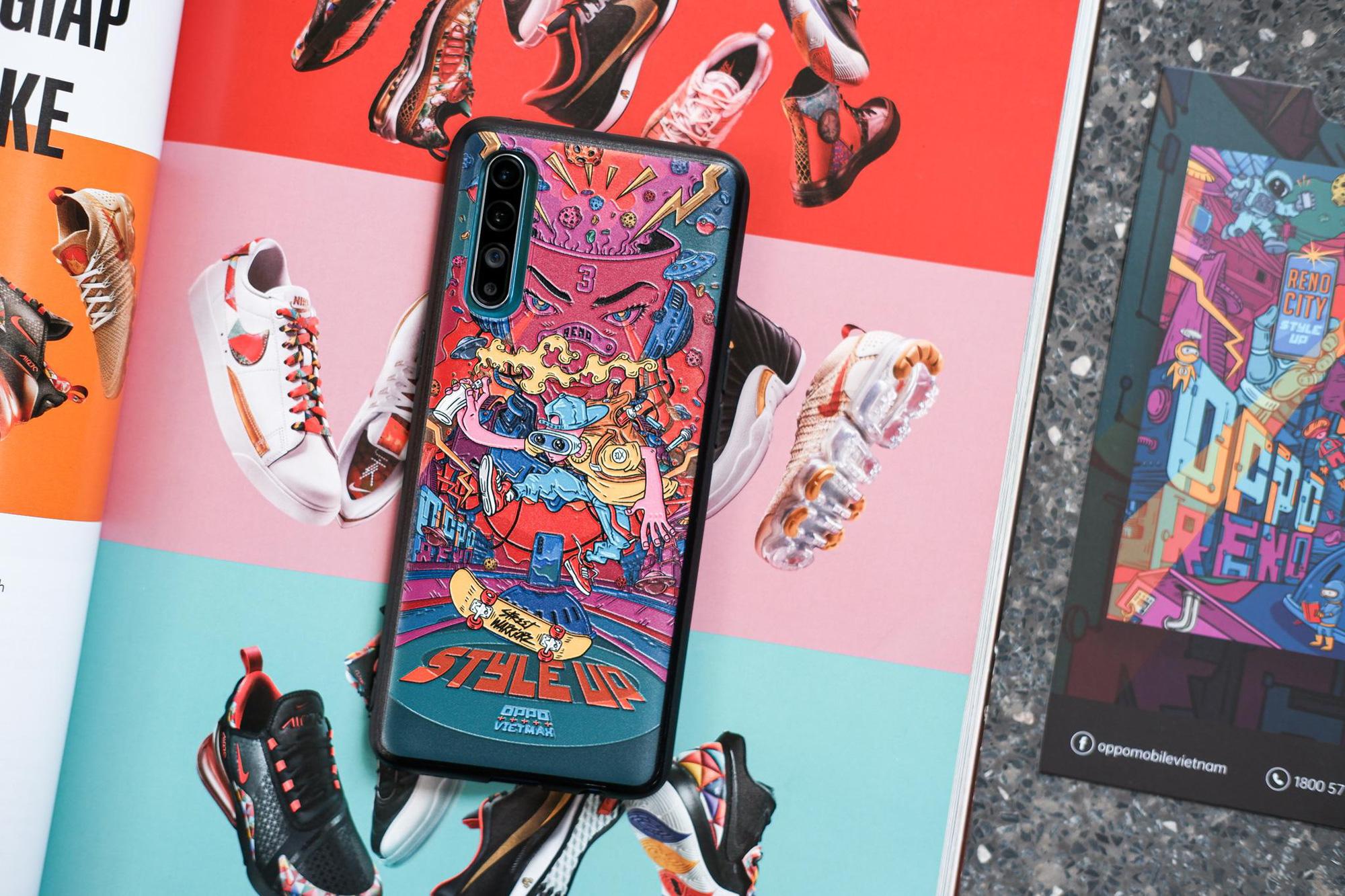 Reno3 là chiếc smartphone đặc biệt, vì người dùng lại được sở hữu nhiều ốp lưng độc lạ đi kèm - Ảnh 7.