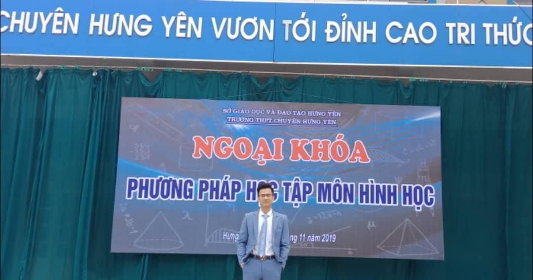 Đột phá Hình học online cùng thầy Phạm Hữu Giang - Ảnh 1.