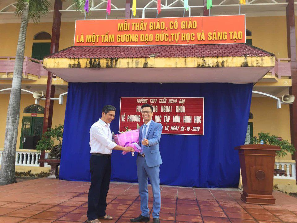 Đột phá Hình học online cùng thầy Phạm Hữu Giang - Ảnh 3.
