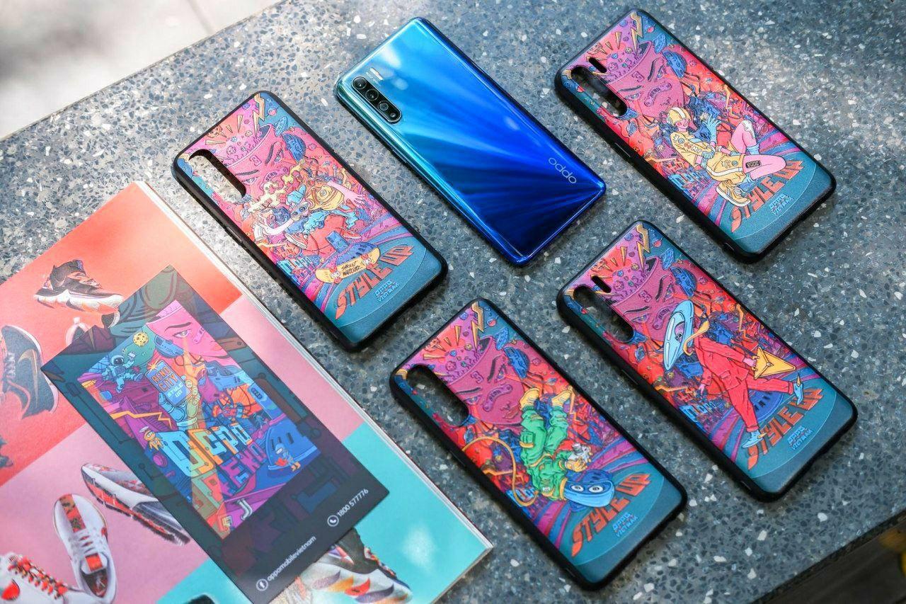 Reno3 là chiếc smartphone đặc biệt, vì người dùng lại được sở hữu nhiều ốp lưng độc lạ đi kèm - Ảnh 8.
