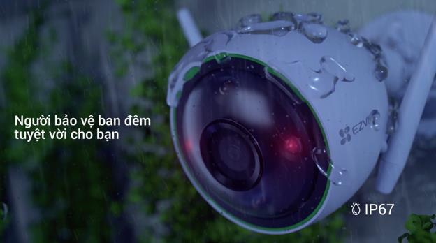 EZVIZ trình làng camera ngoài trời C3N với công nghệ ghi hình màu ban đêm đầy ấn tượng - Ảnh 1.