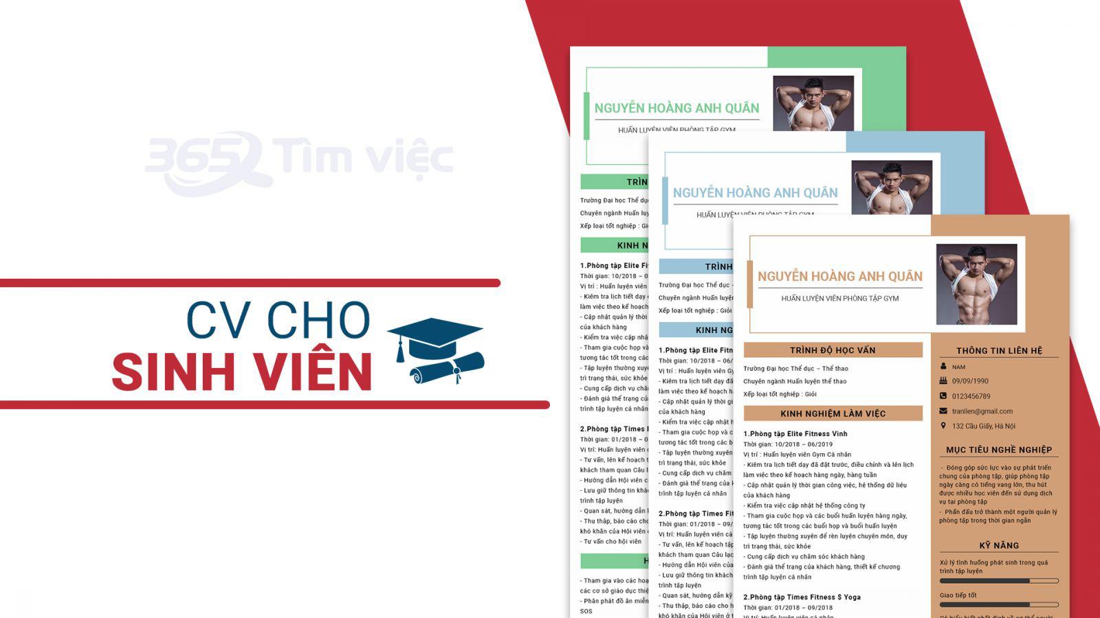 Hướng dẫn cách viết CV cho sinh viên thực tập - Ảnh 1.