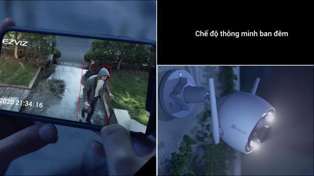 EZVIZ trình làng camera ngoài trời C3N với công nghệ ghi hình màu ban đêm đầy ấn tượng - Ảnh 3.
