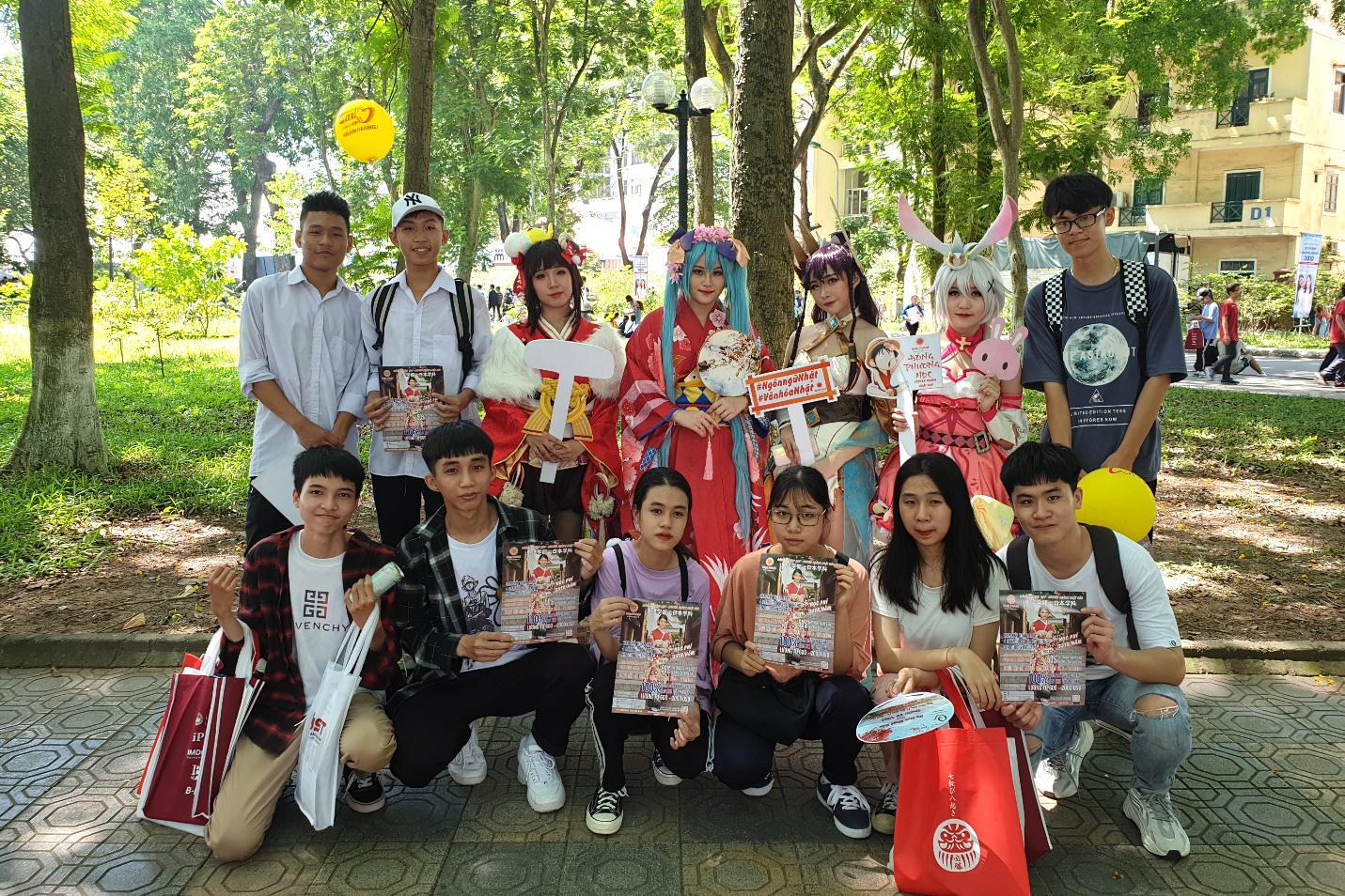 """Chuyên ngành Nhật Bản ĐH Đại Nam mang văn hóa Nhật """"náo loạn"""" ngày hội tuyển sinh 2020 - Ảnh 6."""