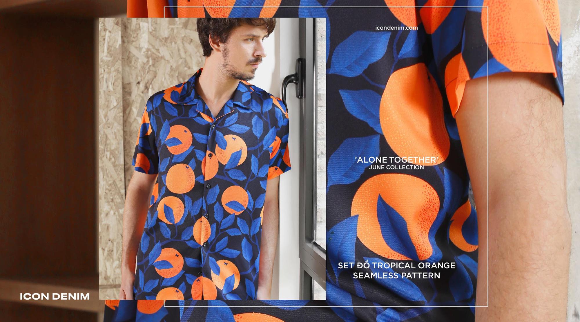 """Set đồ Pijama mặc ra đường mang cảm hứng thắng """"giặc"""" Covid từ Icon Denim - Ảnh 3."""