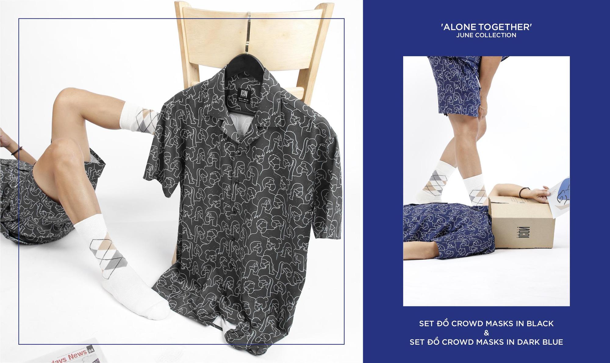 """Set đồ Pijama mặc ra đường mang cảm hứng thắng """"giặc"""" Covid từ Icon Denim - Ảnh 4."""
