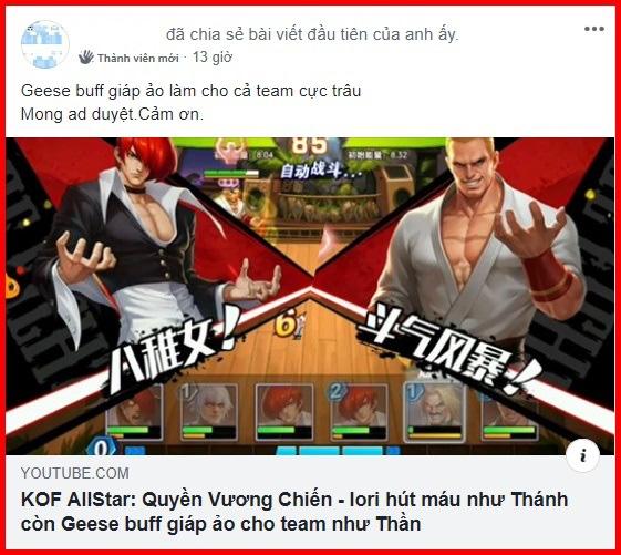 Cộng đồng KOF AllStar VNG - Quyền Vương Chiến sục sôi trước thời điểm Open Beta chính thức - Ảnh 5.