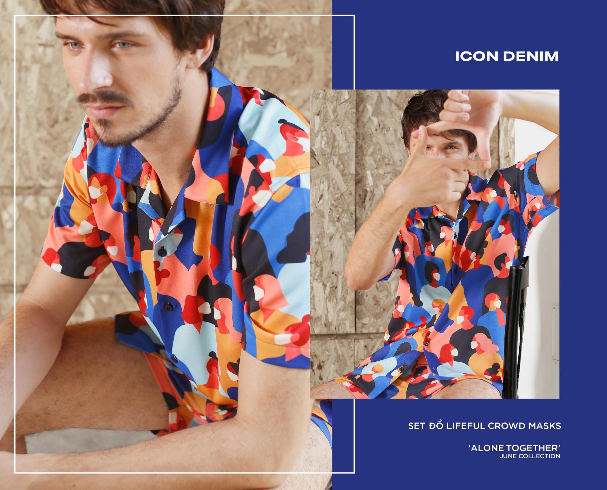 """Set đồ Pijama mặc ra đường mang cảm hứng thắng """"giặc"""" Covid từ Icon Denim - Ảnh 6."""