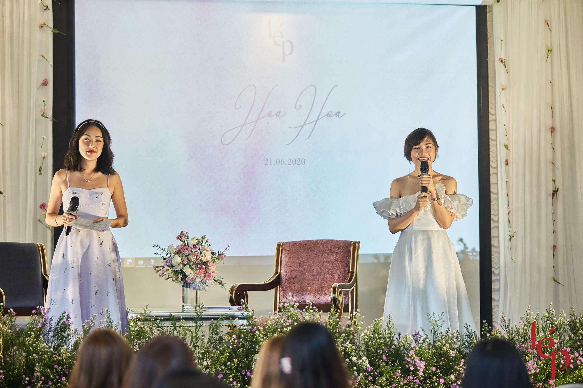 Lep' - Brand nổi tiếng với những chiếc váy hoa cùng khách hàng thiết kế họa trên lụa - Ảnh 2.