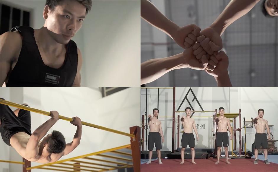 Nhiều nghệ sĩ Việt và cộng đồng thể thao thi nhau tham gia thử thách lan tỏa năng lượng tích cực - Ảnh 5.