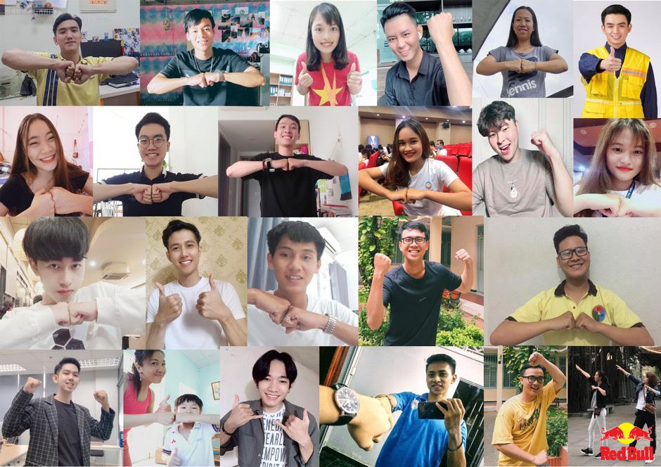 Nhiều nghệ sĩ Việt và cộng đồng thể thao thi nhau tham gia thử thách lan tỏa năng lượng tích cực - Ảnh 6.