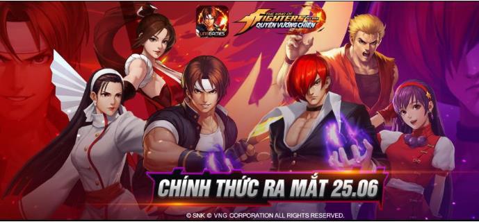 Game thủ đổ bộ KOF AllStar VNG  Quyền Vương Chiến hơn 20 server khai mở Event tặng FREE Kim Cương ngập mặt
