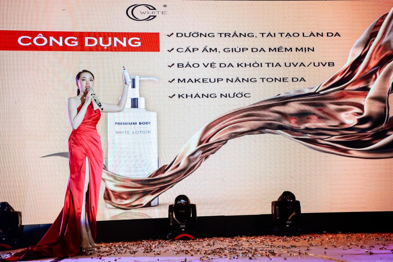 Á hậu Huyền My đồng hành cùng thương hiệu mỹ phẩm CC.WHITE ra mắt sản phẩm mới - Ảnh 6.