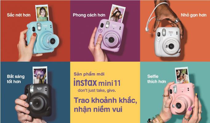 Bắt kịp xu hướng máy chụp ảnh lấy liền siêu hot của giới trẻ thế giới cùng Instax Mini 11 - Ảnh 6.
