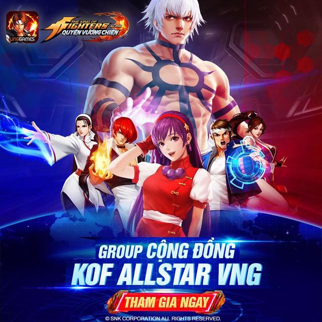 Game thủ đổ bộ KOF AllStar VNG - Quyền Vương Chiến: hơn 20 server khai mở, Event tặng FREE Kim Cương ngập mặt - Ảnh 9.