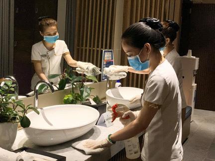 Vinpearl công bố tiêu chuẩn vệ sinh tăng cường trong giai đoạn bình thường mới sau đại dịch - Ảnh 3.