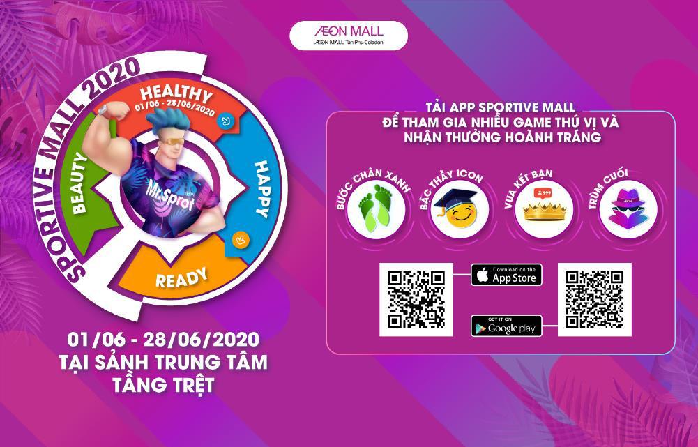 """""""Sportive Mall"""" có mùa 2 chưa? Khách hàng nhắn tin hỏi thăm và AEON MALL Tân Phú Celadon đáp nhanh là: Rồi! - Ảnh 2."""