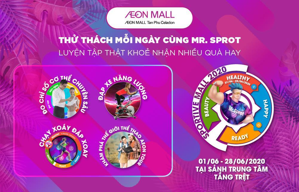 """""""Sportive Mall"""" có mùa 2 chưa? Khách hàng nhắn tin hỏi thăm và AEON MALL Tân Phú Celadon đáp nhanh là: Rồi! - Ảnh 3."""