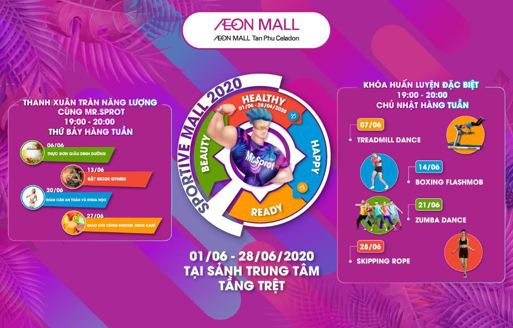 """""""Sportive Mall"""" có mùa 2 chưa? Khách hàng nhắn tin hỏi thăm và AEON MALL Tân Phú Celadon đáp nhanh là: Rồi! - Ảnh 4."""