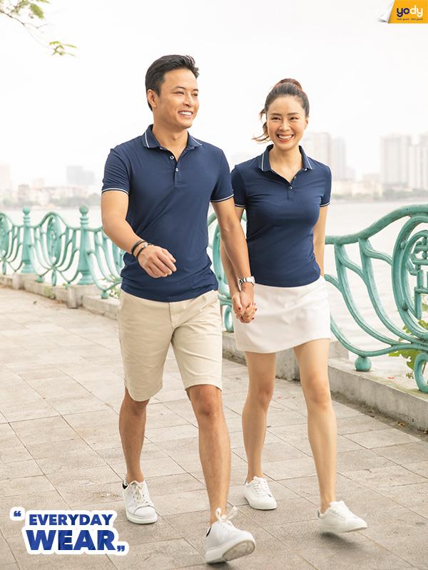 YODY ra mắt dòng sản phẩm Everyday Wear cùng Hồng Đăng - Hồng Diễm - Ảnh 3.