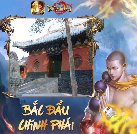 Tân Thiên Long Mobile rục rịch ra mắt phiên bản Thiền Võ Thiếu Lâm cùng Event tặng quà hiện vật cực giá trị - Ảnh 1.