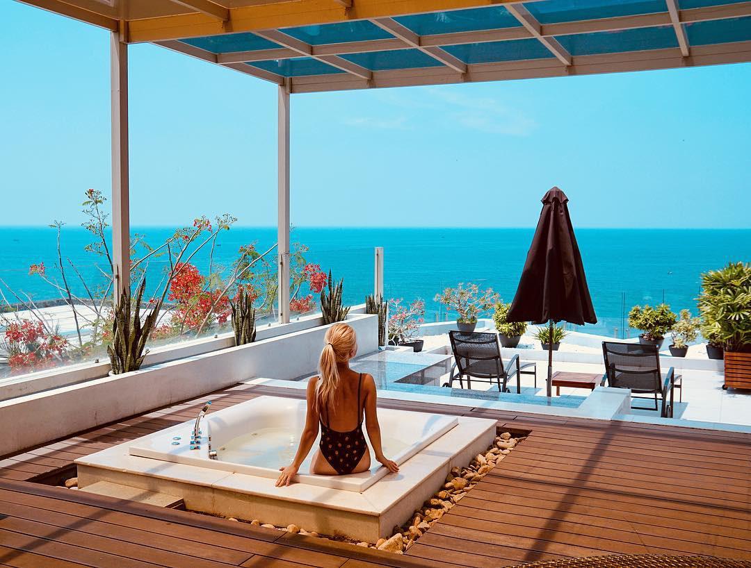 Mê mẩn bồn tắm view biển hot nhất nhì Mũi Né đang được giới trẻ check-in rầm rộ - Ảnh 3.