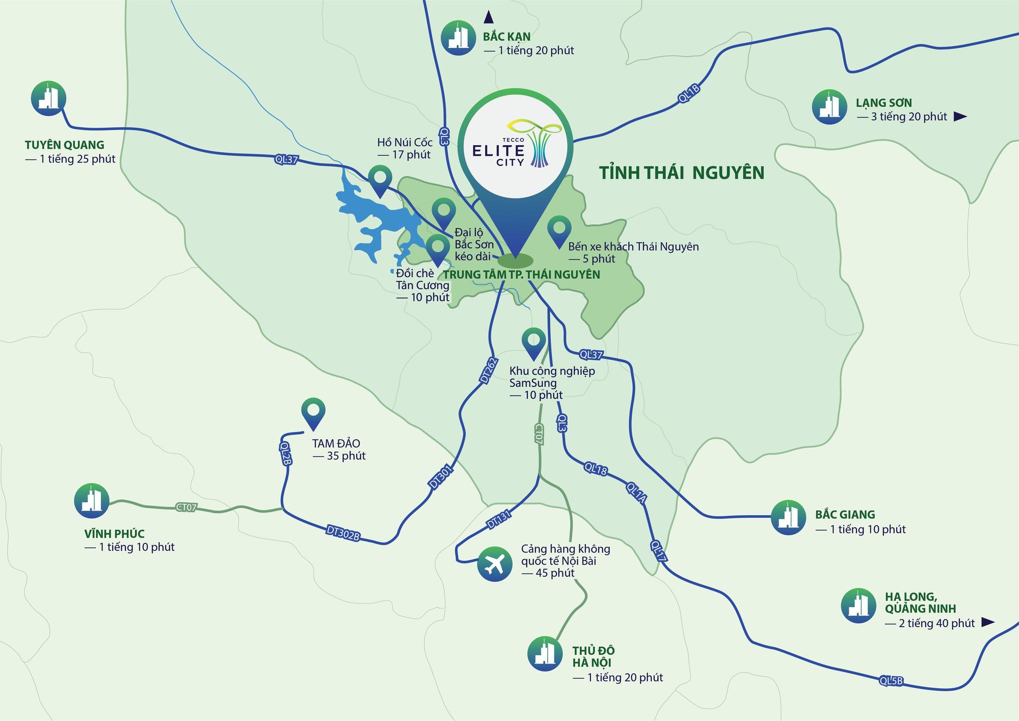 Tecco Elite City: Biểu tượng mới tại tâm điểm phồn vinh TP. Thái Nguyên - Ảnh 6.