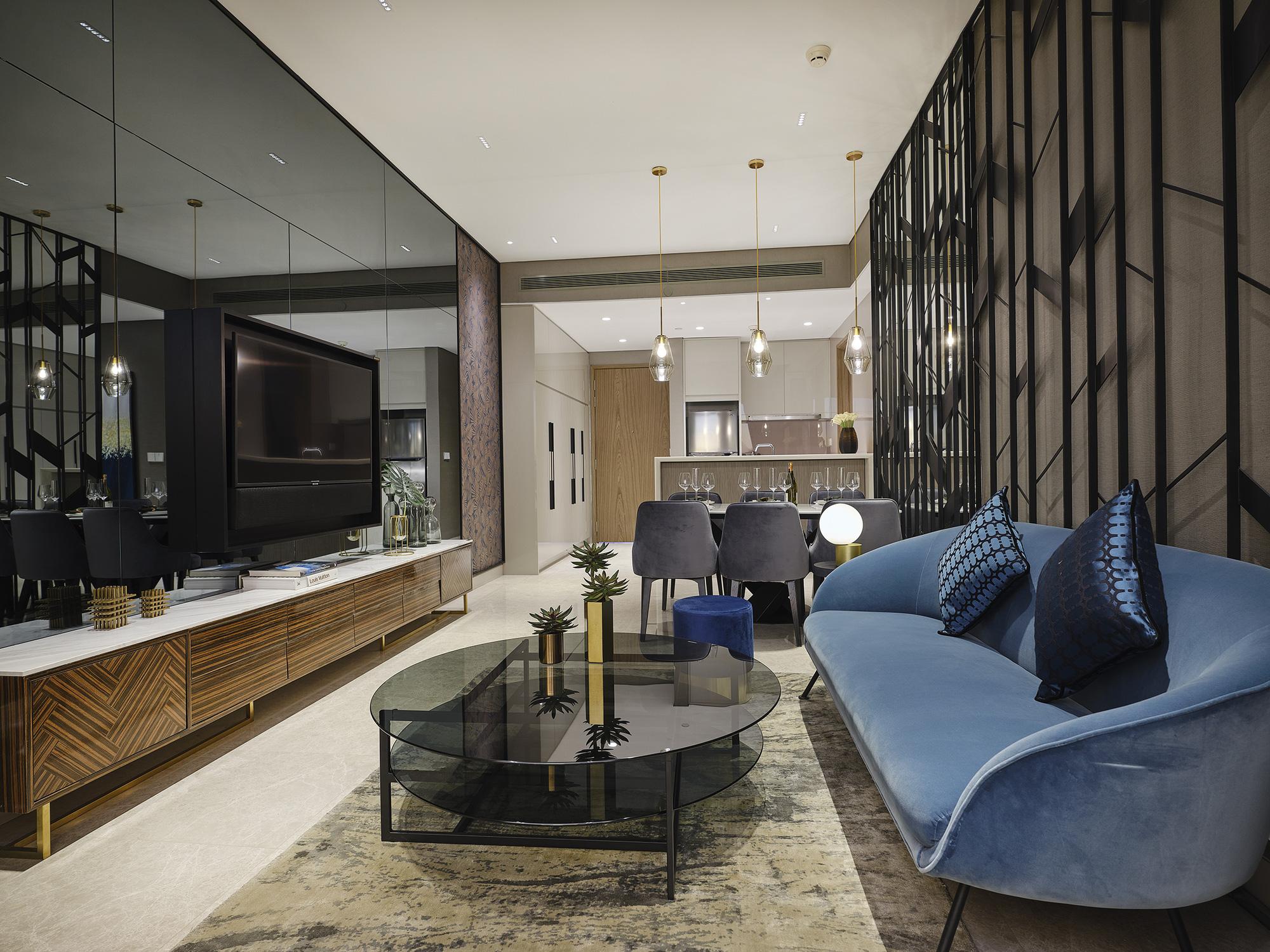 Đưa thời trang vào thiết kế nội thất – Sự xuất hiện ngoạn mục của những căn hộ đầy cảm hứng tại The River - Ảnh 4.