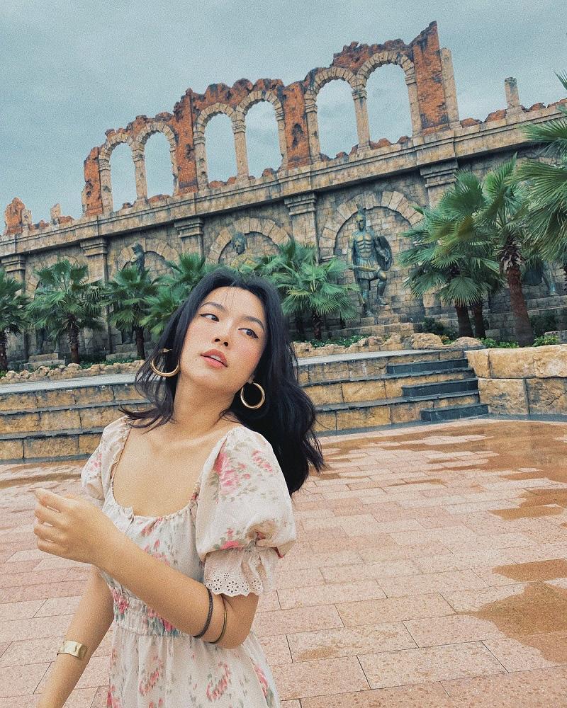"""Hot blogger Hà Trúc: Rực rỡ với trải nghiệm """"ăn ngon, mặc đẹp"""" và du lịch chất tại Nam đảo Phú Quốc - Ảnh 2."""