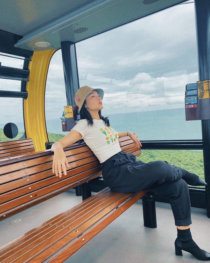 """Hot blogger Hà Trúc: Rực rỡ với trải nghiệm """"ăn ngon, mặc đẹp"""" và du lịch chất tại Nam đảo Phú Quốc - Ảnh 5."""