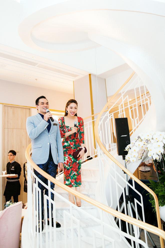 Trương Ngọc Ánh, Giáng My cùng dàn sao Vbiz rần rần tham dự sự kiện khai trương của bạn gái Chi Bảo - Ảnh 6.